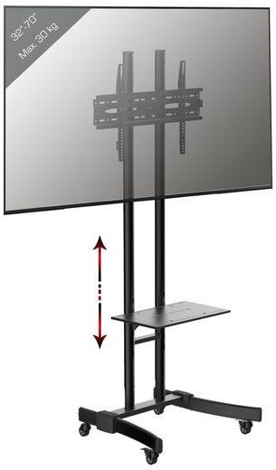 VCM »TV Standfuß Ständer Alu Glas B-MS 190« TV-Ständer