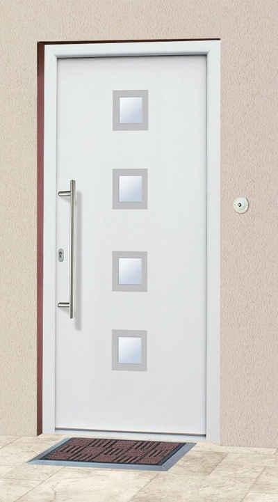 KM Zaun Haustür »A05«, BxH: 98x208 cm, weiß, in 2 Varianten
