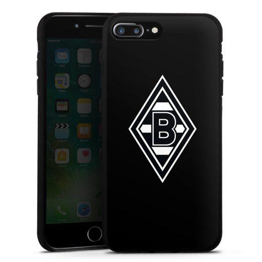 DeinDesign Handyhülle »Borussia Raute Schwarz« Apple iPhone 8 Plus, Hülle Wappen Borussia Mönchengladbach Gladbach