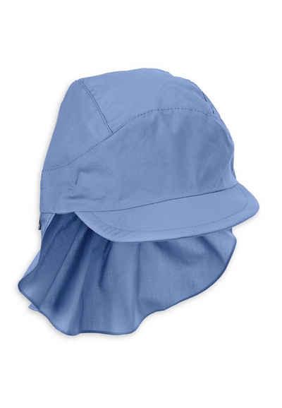 Sterntaler® Schirmmütze »Schirmmütze mit Nackenschutz« (1-St) aus UV-Popeline; mit Nackenschutz