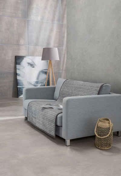 Sofaschoner »Fano« IBENA, mit modernen Streifen