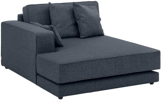OTTO products Sofa-Eckelement »Grenette«, Modul, im Baumwoll-/Leinenmix oder umweltschoned aus 70% recyceltem Polyester, Federkern