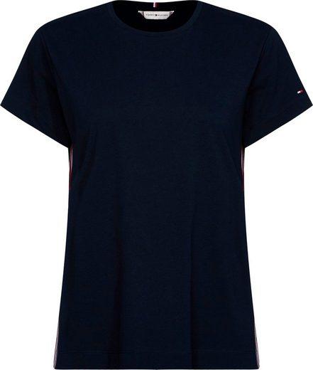 TOMMY HILFIGER T-Shirt »THEA C-NK TEE SS« mit Tommy Hilfiger Logo