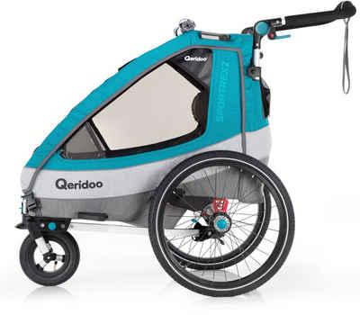 Qeridoo Fahrradkinderanhänger »SPORTREX 2«