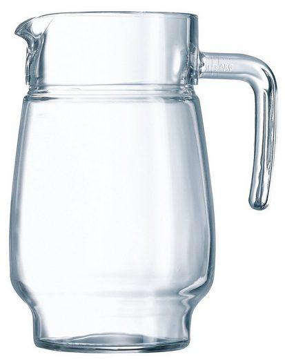 Luminarc Wasserkrug »Tivoli«, Krug 1.6 Liter Glas transparent 1 Stück