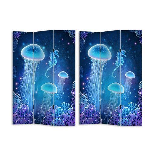 HTI-Line Paravent »Paravent Jellyfish«, Nur für den Innenbereich geeignet