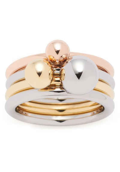 LEONARDO Ring-Set »Set/3 Ring Sfera, 019648, 019649, 019650« (Set, 3-tlg)