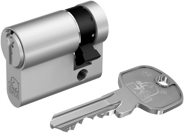 BASI Zylinderschloss »10/70 mm«, AS Profil-Halbzylinder