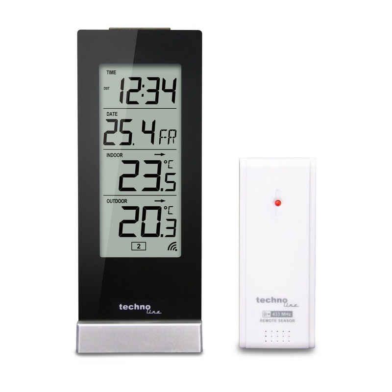 technoline »WS 9767« Wetterstation (inklusive Außensender, mit Temperaturtrendanzeige)