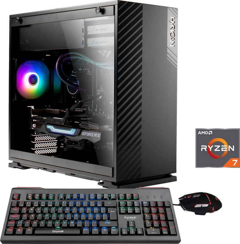 Hyrican Striker 6625 Gaming-PC (AMD Ryzen 7 5800X, RTX 3080, 16 GB RAM, 1500 GB SSD, Wasserkühlung)