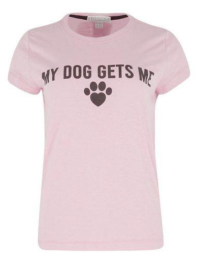 PJ Salvage Pyjamaoberteil »My Dog Gets Me«