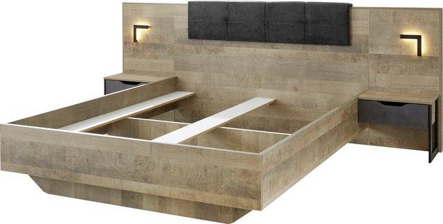 Schlafzimmer Sets - Places of Style Schlafzimmer Set »Malthe«, (Set, 3 tlg), im trendigen Design  - Onlineshop OTTO