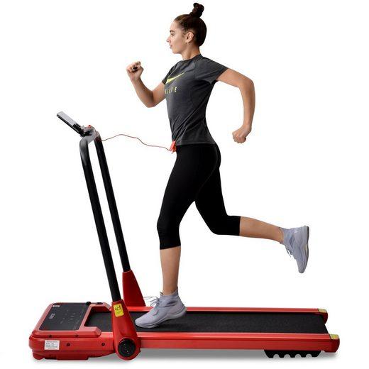 Merax Laufband »Tyche«, klappbar elektrisch mit Fernbedienung inkl. Bluetooth-Lautsprecher & APP, bis 12 km/h