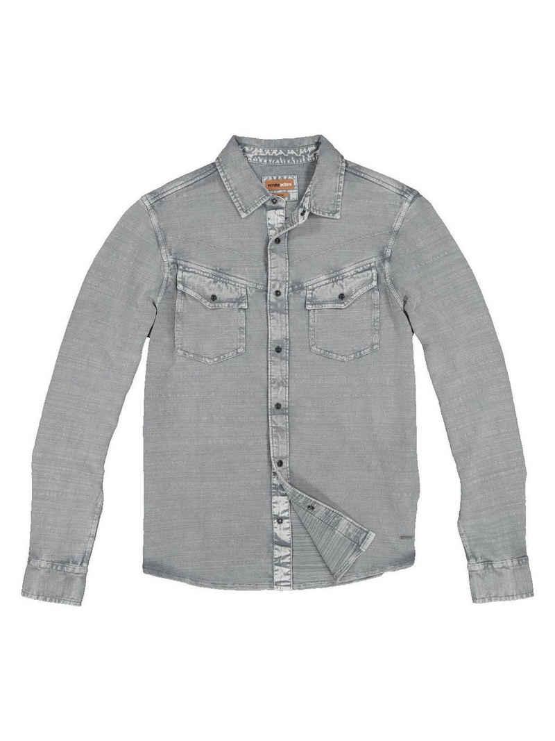 emilio adani Langarmshirt »Polo-Shirt langarm«