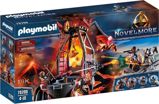 Playmobil® Konstruktions-Spielset »Burnham Raiders Lavamine (70390), Novelmore«, ; Made in Germany