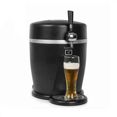 Klarstein Bierzapfanlage Tap2Go mobile 2-in1 Bierzapfanlage mit Getränkekühler 5l/13l schwarz
