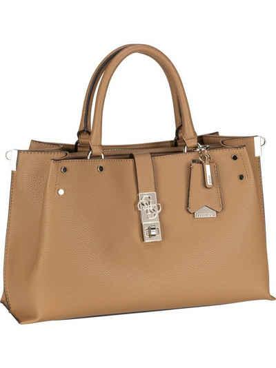 Guess Handtasche »Albury Large Girlfriend Satchel«, Henkeltasche