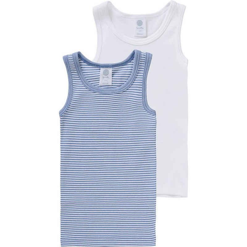 Sanetta Unterhemd »Unterhemden Doppelpack für Jungen, Organic Cotton«