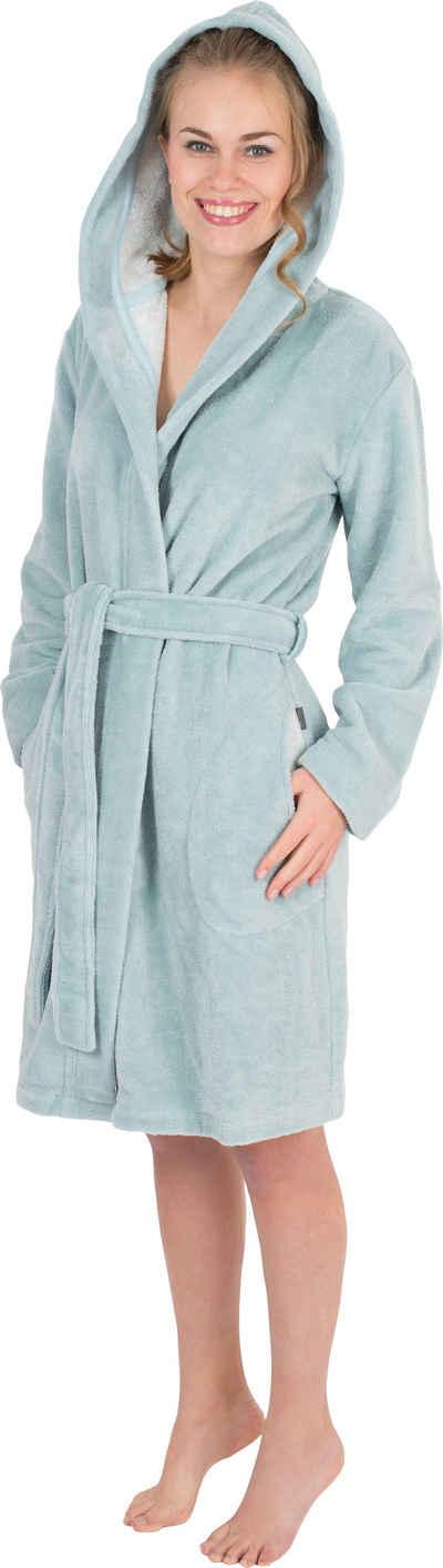 Damenbademantel »6121«, Wewo fashion, mit Schubtaschen