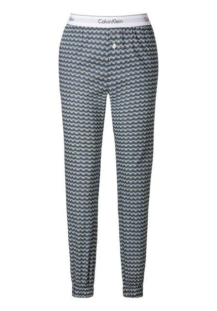 Hosen - Calvin Klein Relaxhose mit Muster und seitlichen Eingrifftaschen ›  - Onlineshop OTTO