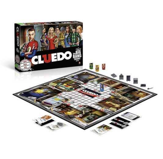Winning Moves Spiel, Brettspiel »Cluedo The Big Bang Theory (Deutsch)«