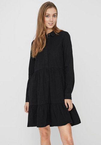 Vero Moda Džinsinė suknelė »VMMARIA FRILL« iš ek...