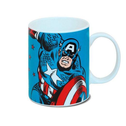 LOGOSHIRT Tasse mit Qualitätsprint »Captain America«