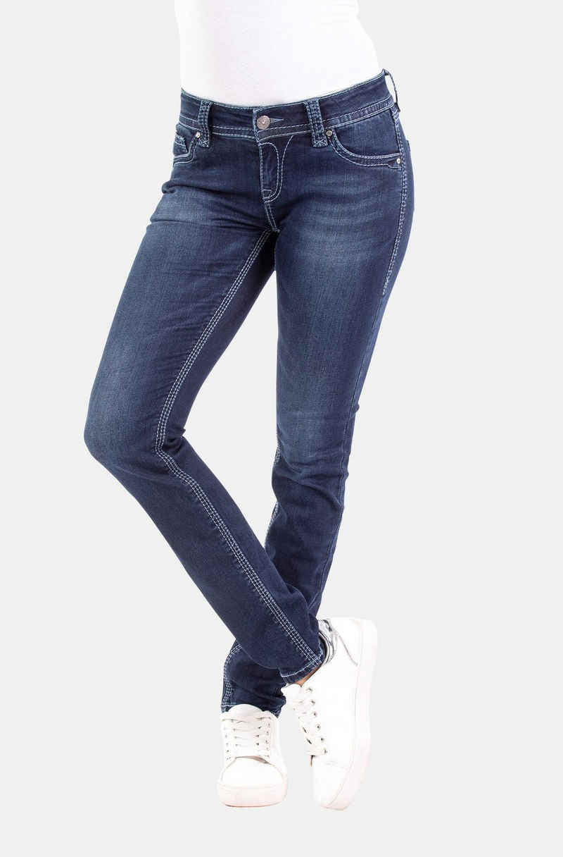 Blue Monkey Skinny-fit-Jeans »Luna« (1-tlg)