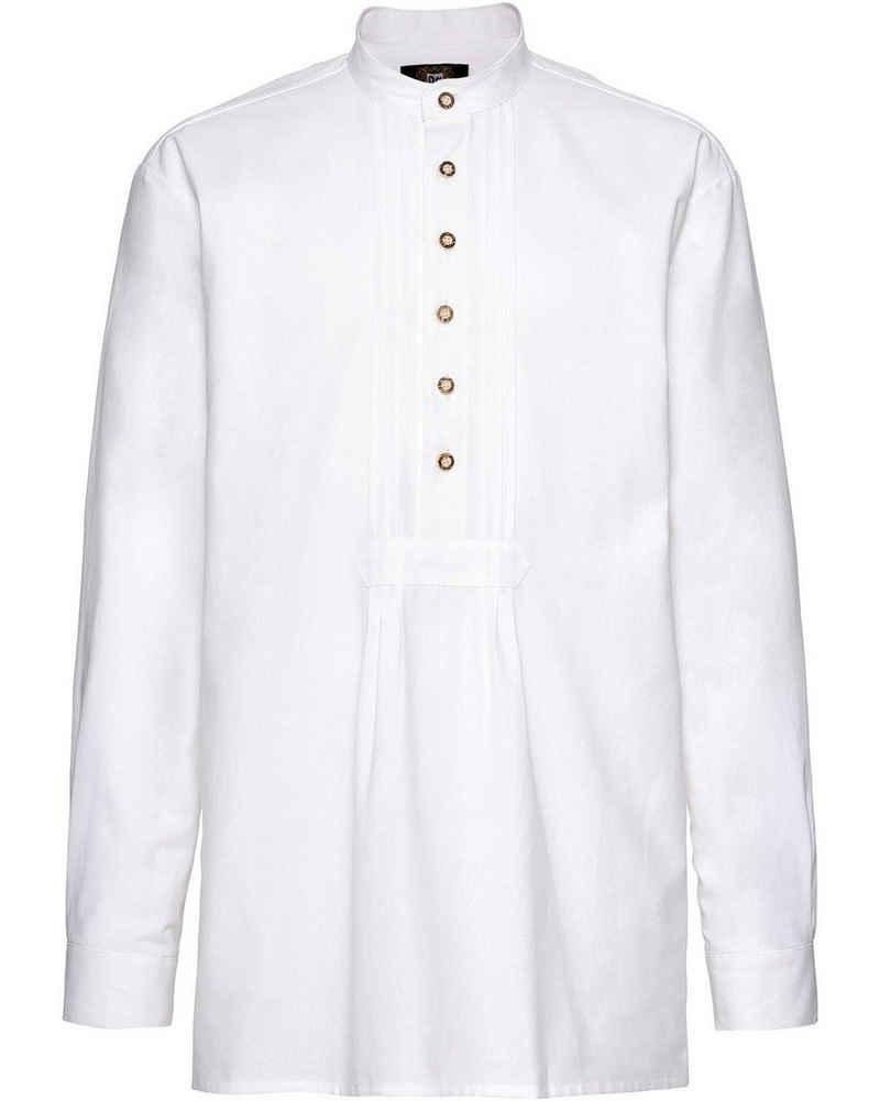 Luis Steindl Trachtenhemd »Schlupfhemd mit Biesen«