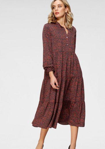 Levi's® Blusenkleid »Marion LS« mit Volant am Saum