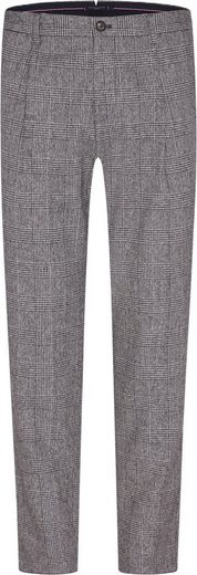 Tommy Hilfiger TAILORED Anzughose »CHECK SLIM PANT« durch Riegel in der Weite regulierbar