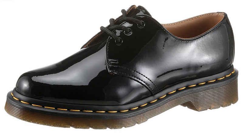 DR. MARTENS »1461 3 Eye Shoe black Patent Lamper« Schnürschuh in Glanzoptik