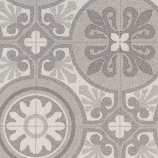 BODENMEISTER Vinylboden »Vintage Trend«, Retro grau, Breite 200/300/400 cm