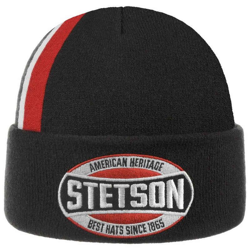 Stetson Beanie (1-St) Mütze mit Umschlag