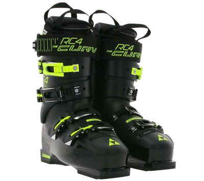 Fischer »FISCHER RC4 CURV 120 VACUUM FULL FIT Ski-Schuhe präzise Touren-Stiefel Wintersport Schwarz/Gelb« Skischuh