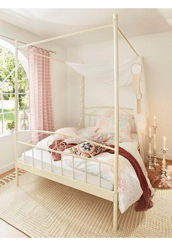 Home affaire Metalinė lova »Birgit« su einem gražia...
