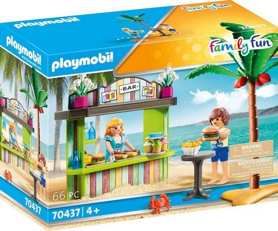Playmobil® Konstruktions-Spielset »Strandkiosk (70437), Family Fun«, ; Made in Germany