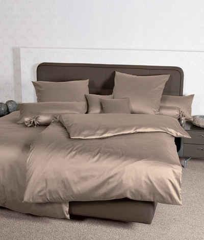 Bettbezug »Mako-Satin«, Traumschloss (1 St), 100% Mako-Baumwolle, mit Reißverschluss
