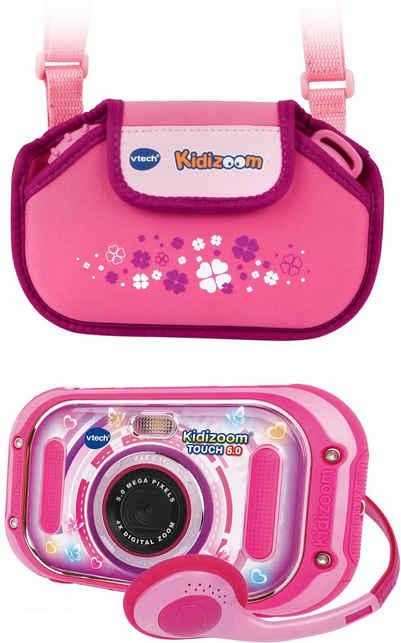 Vtech® »KidiZoom Touch 5.0, pink« Kinderkamera (5 MP, inklusive Tragetasche)