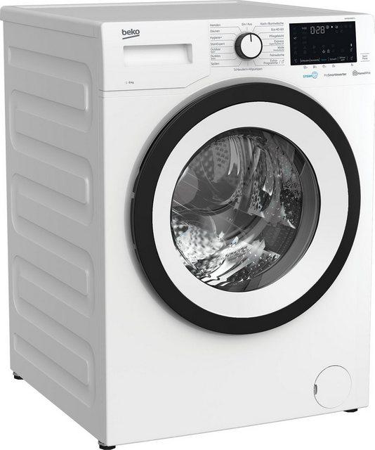 BEKO Waschmaschine WMY81466ST1, 8 kg, 1400 U min