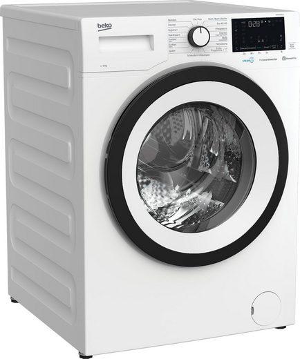 BEKO Waschmaschine WMY81466ST1, 8 kg, 1400 U/min