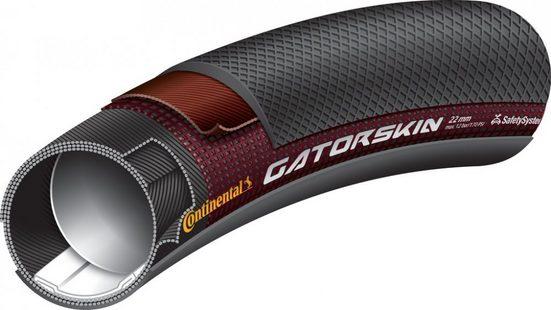 CONTINENTAL Fahrradreifen »Schlauchreifen Conti Sprinter Gatorskin 28'x22mm