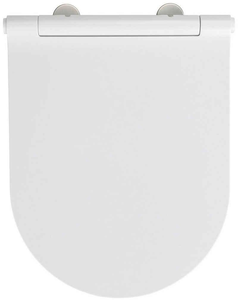 WENKO WC-Sitz »Nuoro« (1-St), aus Duroplast, mit Absenkautomatik