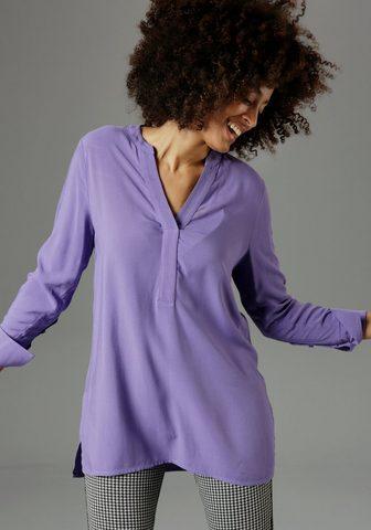 Aniston SELECTED Ilgi marškiniai su extra-langen Mansch...