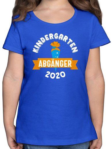 Shirtracer T-Shirt »Kindergarten Abgänger 2021 Schultüte - Einschulung und Schulanfang - Mädchen Kinder T-Shirt - T-Shirts« t-shirt kindergarten abgänger