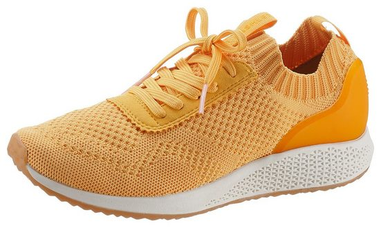 Tamaris »Fashletics« Slip-On Sneaker in Strick-Optik