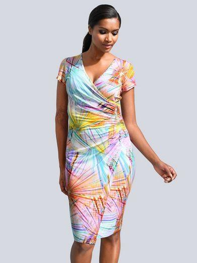 Alba Moda Kleid im sommerlichen Druck allover
