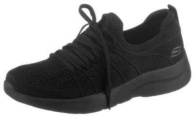 Skechers »DYNAMIGHT 2.0« Slip-On Sneaker mit aufgesetzter Schnürung