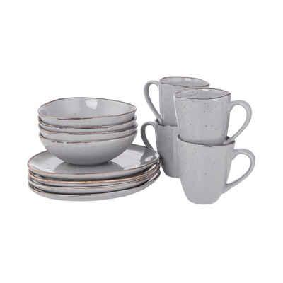 BUTLERS Single Geschirr-Set »FINCA Geschirr-Set zum Frühstück 12-tlg.«