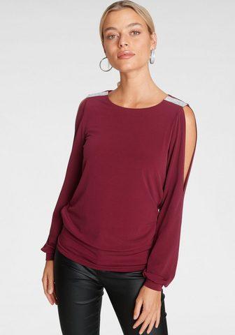 Melrose Marškinėliai ilgomis rankovėmis su Str...